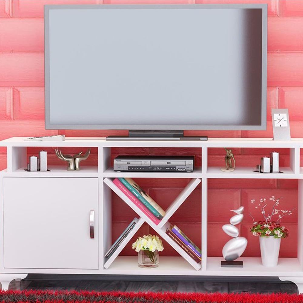 AY TV UNIT WHITE (CR3-250)