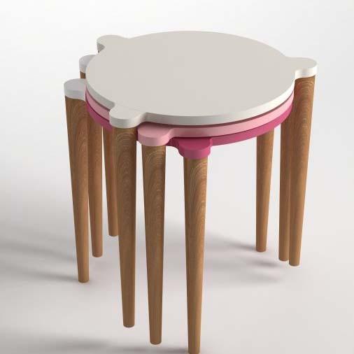 Point Zigon Coffee Table