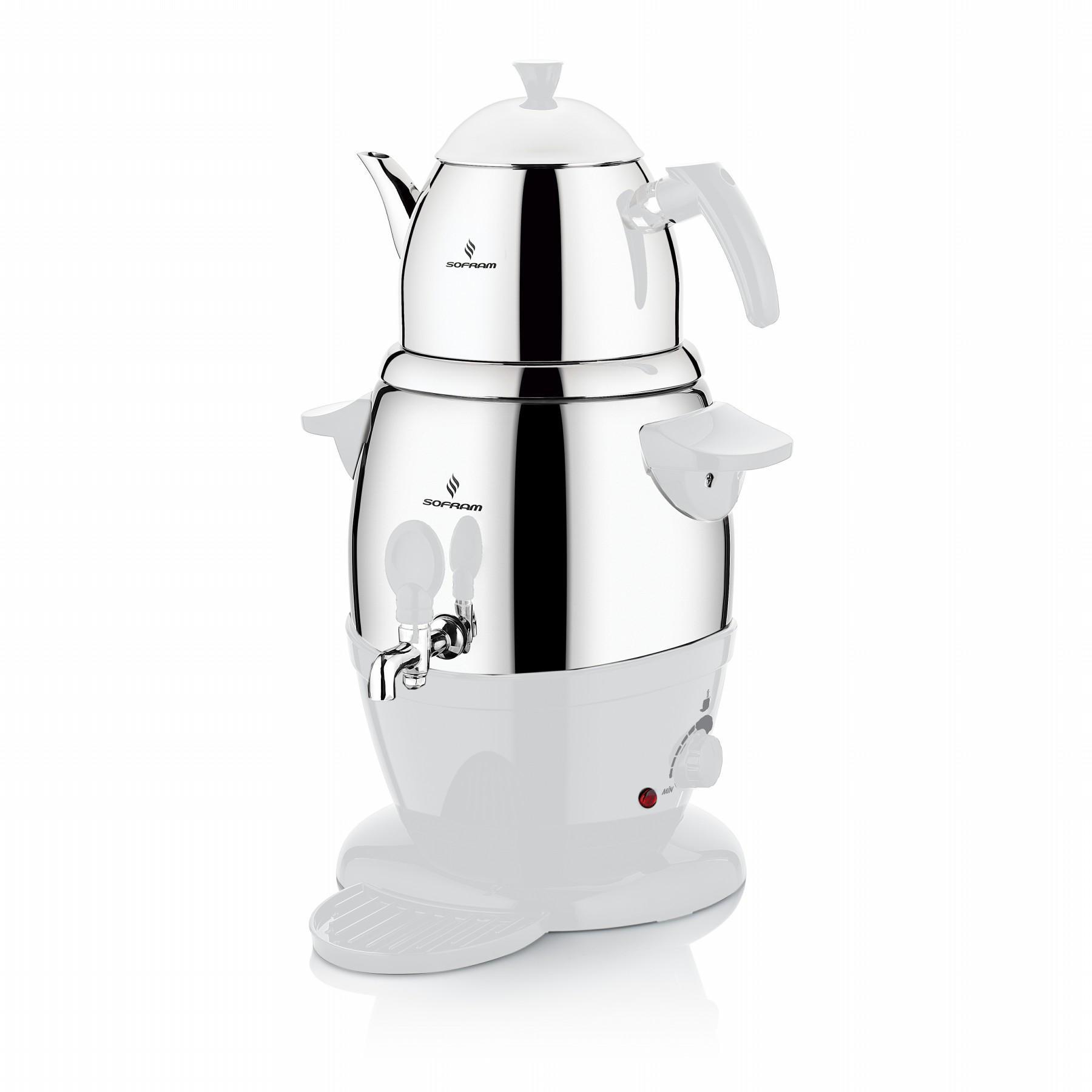 Sofram Electric Turkish Tea White Semavor