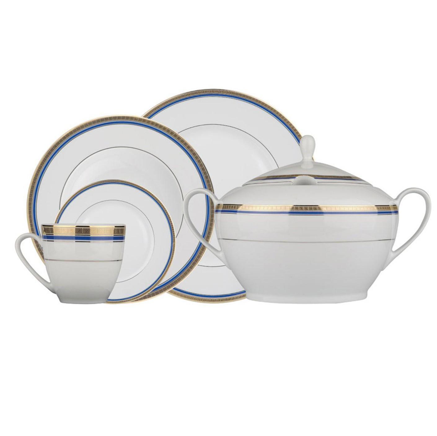 Kutahya Porselen FINE BONE Patterned 82 Pieces 8516 Dinnerware Set