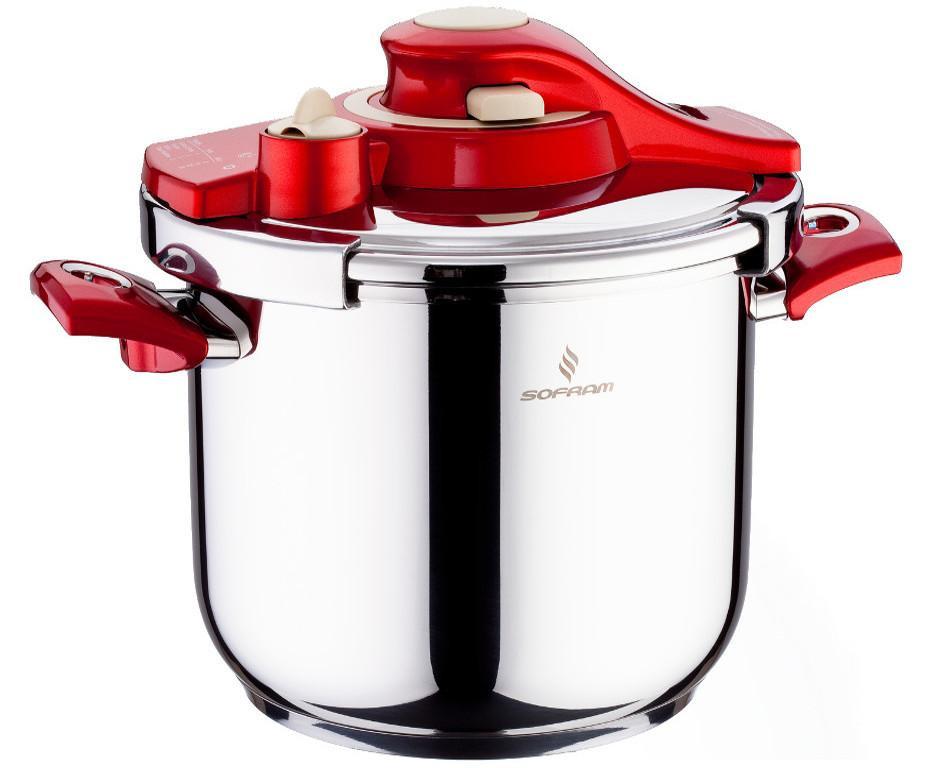Sofram KUPON Matic Red Pressure Pot Cooker 6 lt