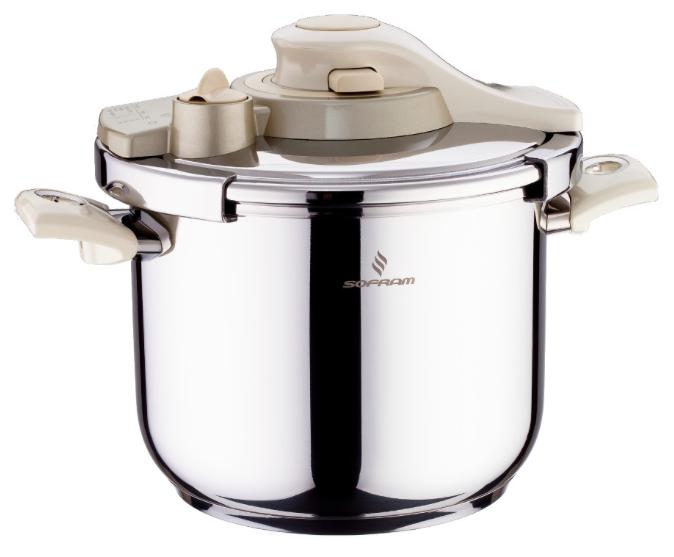 Sofram KUPON Matic Cream Pressure Pot Cooker 4 lt 22 cm