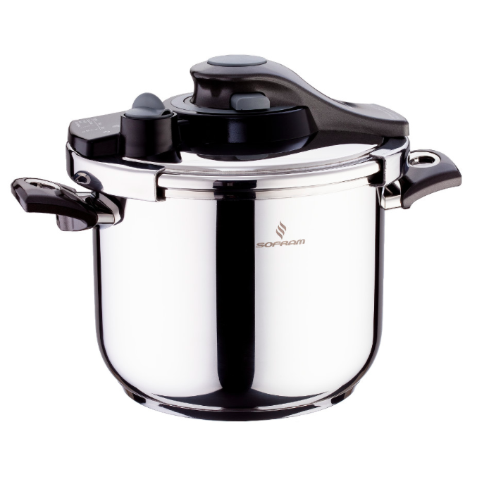 Sofram KUPON Matic Black Pressure Pot Cooker 4 lt 22 cm