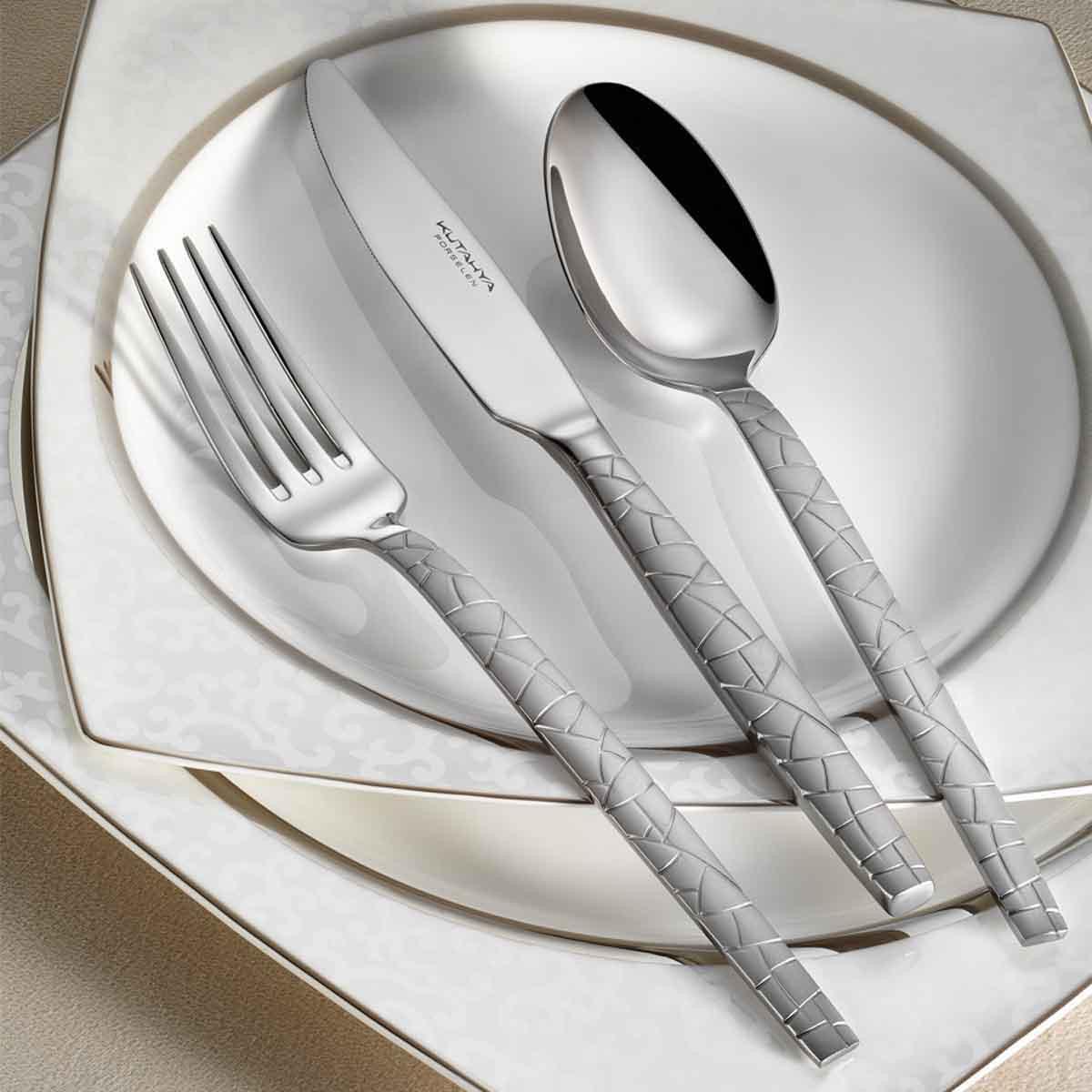 Kutahya Porselen M1 89 Pieces Flatware Sets
