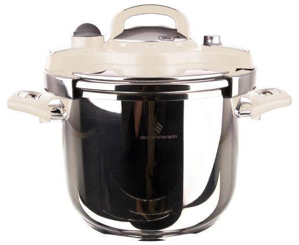 Sofram NESTA Matic Cream Pressure Pot Cooker 8 lt 24 cm