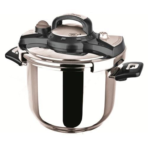 Sofram NESTA Matic Black Pressure Pot Cooker 6 lt 22 cm