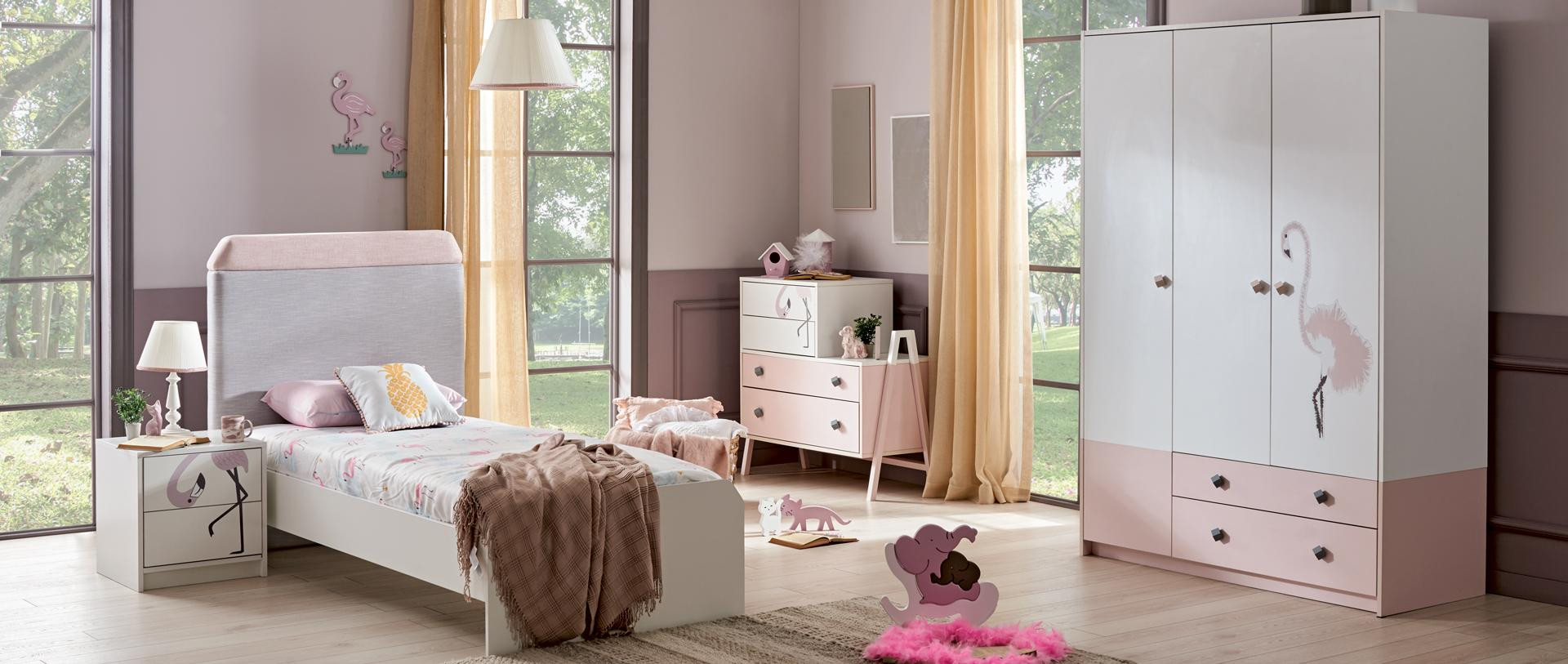ALFEMO KIDS&TEENS FLAMINGO YOUNG ROOM