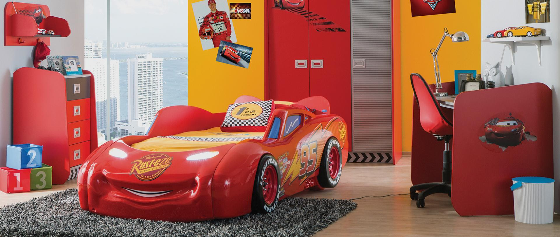 ALFEMO KIDS&TEENS DISNEY CARS YOUNG ROOM