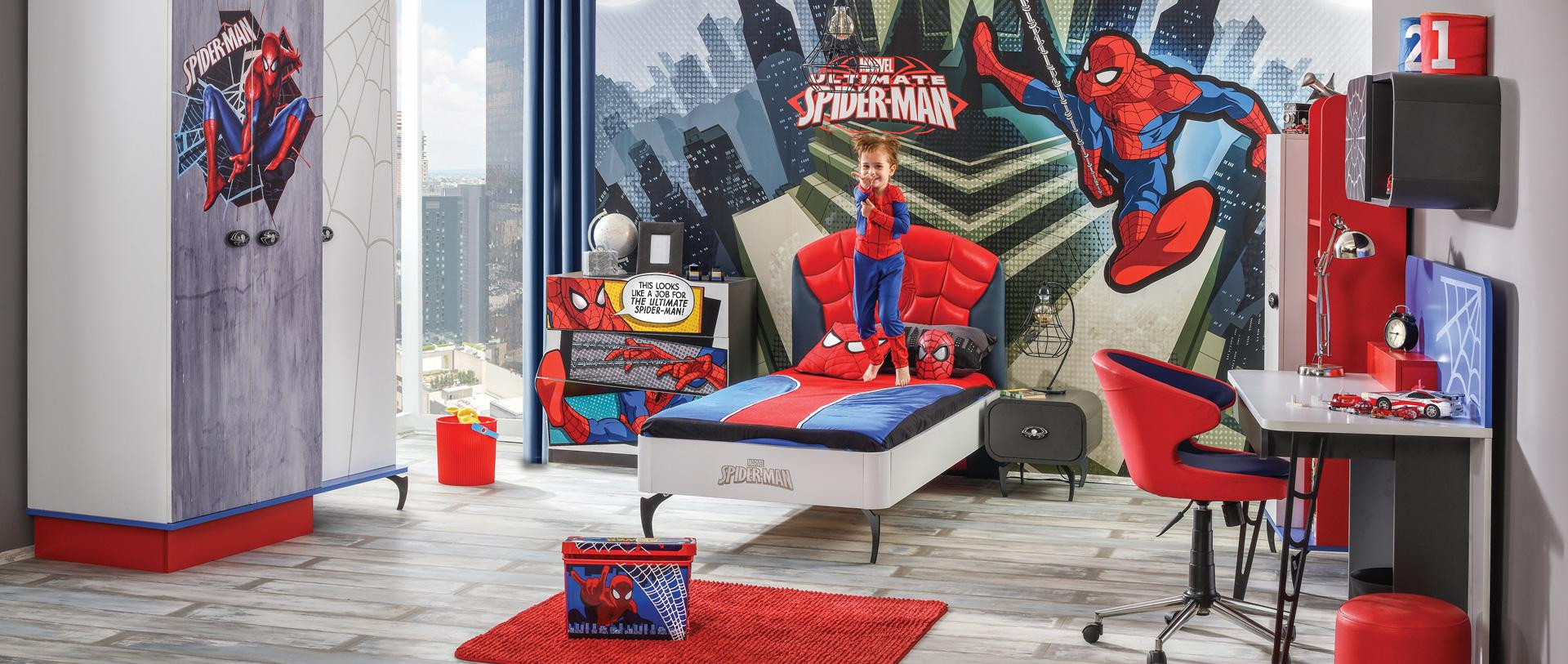 ALFEMO KIDS&TEENS DISNEY SPIDERMAN YOUNG ROOM