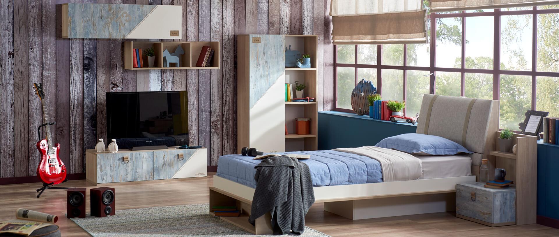 ALFEMO KIDS&TEENS DENIM YOUNG ROOM