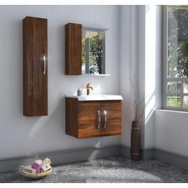 Bathroom washbasin with cabinet 3 pieces 1015