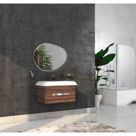 Bathroom washbasin with cabinet 2 pieces 1007