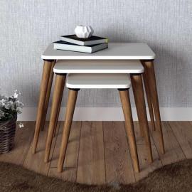 NINOVA ZIGON COFFEE TABLE WHITE (KS3-1447)