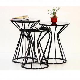 PRISM COFFEE TABLE BLACK (OA3-660)