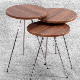 BUKET ZIGON COFFEE TABLE WALNUT (VY3-160)