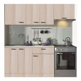 New Oak Kitchen with Aspirator Module 200 cm