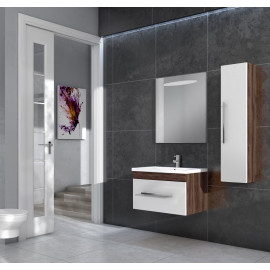Bathroom washbasin with cabinet 3 pieces 1025