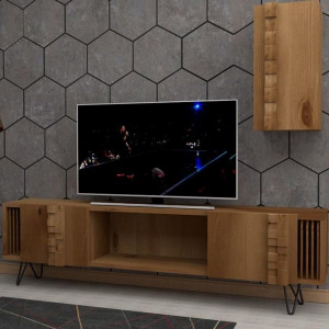 ARAGON WOOD TV UNIT (QC3-101)