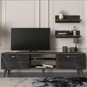 AYDEN TV UNIT NUTS-MARBLE (DI3-760)