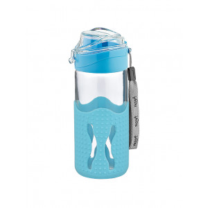 Giza Glass Water Bottle With Silicon Sleeve (151938)