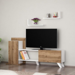 MONALİSA TV UNIT WHITE WALNUT (DI3-516)