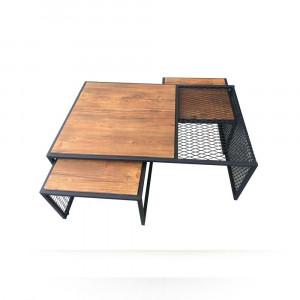 PRESTIGE CENTER COFFEE TABLE WALNUT (ZL3-252)