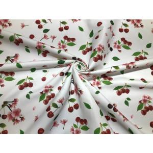 Cherry Pattern Printed Fabric