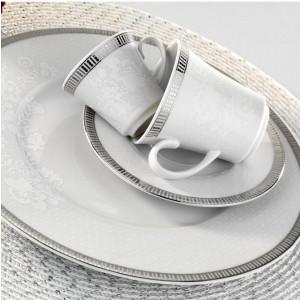 Kutahya Porselen IRIS 97 Pieces 514620 Patterned Dinnerware Set