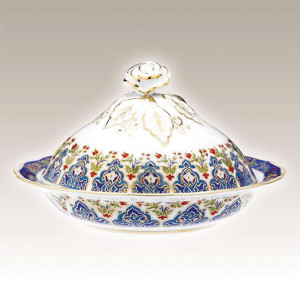 Kutahya Porselen SN20SK01415 Hand Made Sugar Bowl
