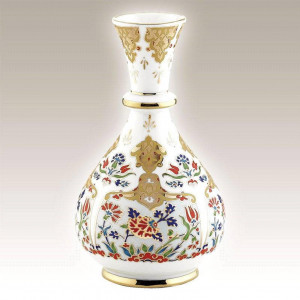Kutahya Porselen HL20VZ01412 Hand Made Antique Vase