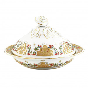 Kutahya Porselen SN20SK01412 Hand Made Sugar Bowl