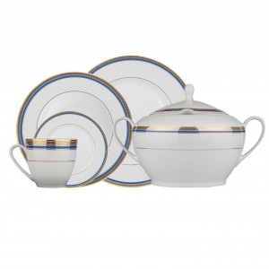 Kutahya Porselen FINE BONE Patterned 82 Pieces 8516 Dinnerware Set