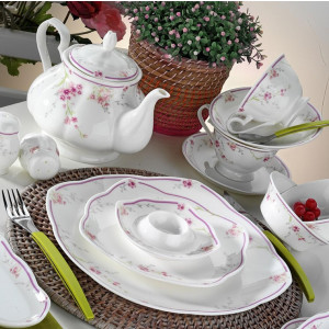 Kutahya Porselen FINE BONE 44 Pieces 50106 Dinnerware Set