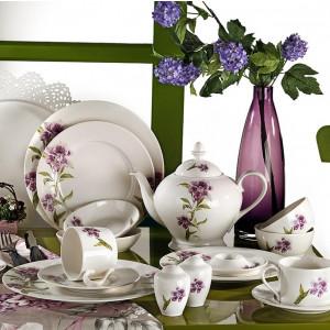 Kutahya Porselen LEONGBERG 42 Pieces 7744 Patterned Dinnerware Set