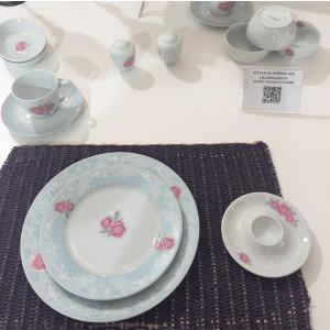 Kutahya Porselen 33 Pieces 9379 Patterned Dinnerware Set