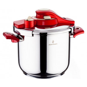 Sofram KUPON Matic Red Pressure Pot Cooker 6 lt