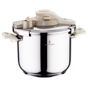 Sofram KUPON Matic Cream Pressure Pot Cooker 6 lt 22 cm
