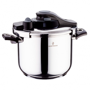 Sofram KUPON Matic Black Pressure Pot Cooker 6 lt 22 cm