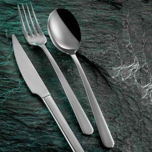 Kutahya Porselen ELITE SADE 89 Pieces Flatware Sets