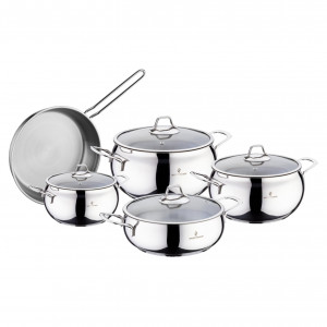 Sofram LUNA 9 Pieces Cookware Set