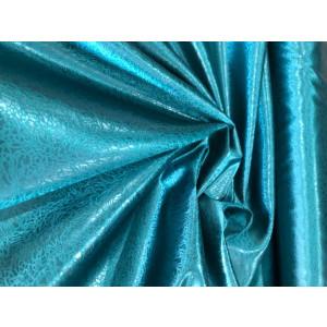 Satin Fabric Petrol Green