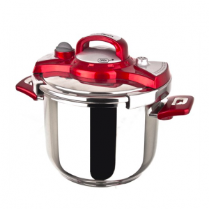 Sofram NESTA Matic Red Pressure Pot Cooker 8 lt 24 cm