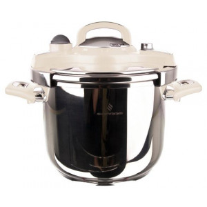 Sofram NESTA Matic Cream Pressure Pot Cooker 6 lt 22 cm