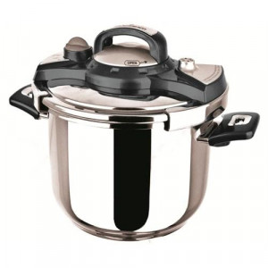 Sofram NESTA Matic Black Pressure Pot Cooker 6 lt 22 cm
