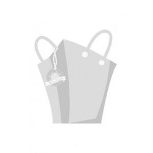 Leaf Patterned New Season Printed Neck Collar T-shirt 1800036
