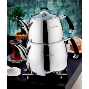 Sofram Venus Black Turkish Tea Kettle