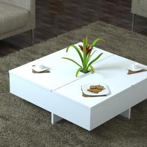 AMETHYST MEDIUM TABLE WHITE (KL3-139)