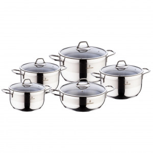 Sofram SOFT 10 Pieces Cookware Set