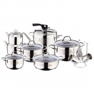 Sofram SOFT 18 Pieces Cookware Set