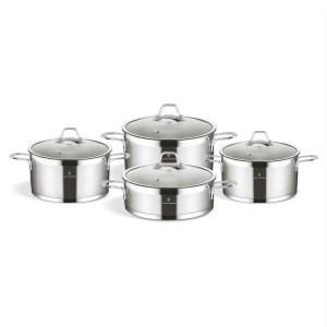 Sofram TETRA 8 Pieces Cookware Set